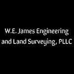 Logo of W.E. James Engineering and Land Surveying, PLLC